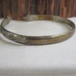Sterling Silver Trinidad Flower Vine Bracelet